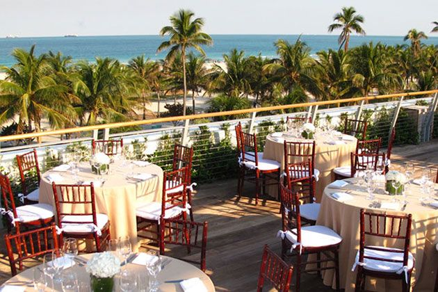 Miami Beach Wedding Venues The Betsey Hotel