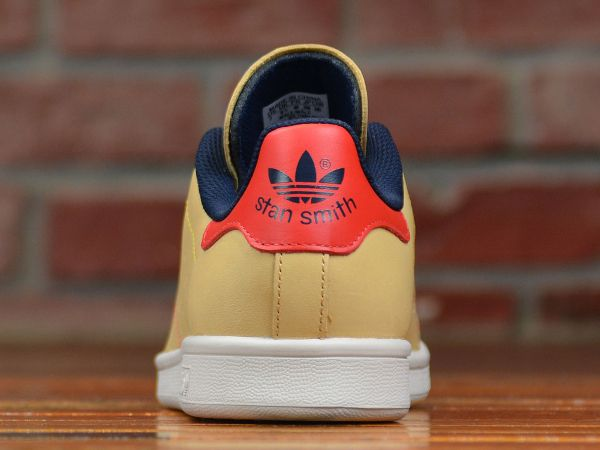 outlet store b0d79 55ab7 ... adidas stan smith vachetta tan (4)
