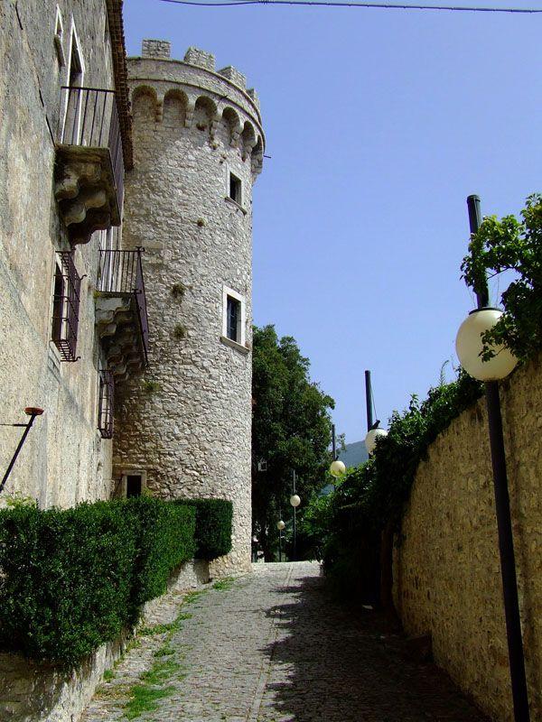 Pignatelli castle - Monteroduni, Isernia, Molise Italy. 41°31′00″N 14°10′00″E