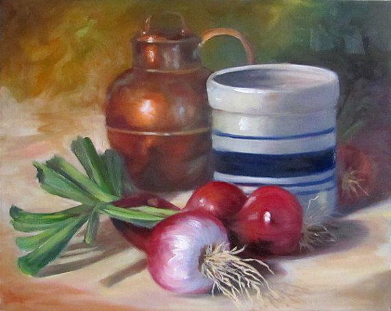 Kitchen Art Oil Paintings