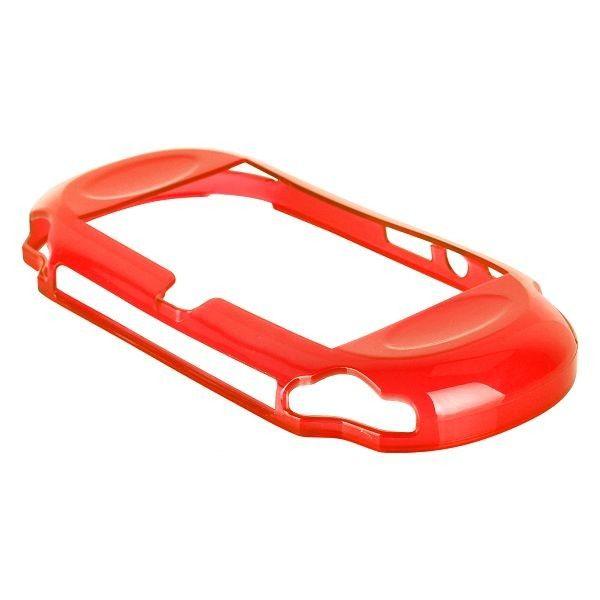 Silicone Shell - Medium Hard (Rød) Sony Playstasjon Vita Deksel