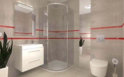 Wnętrze i aranżacja łazienki apartamentu w Darłówku - Mobiliani Design