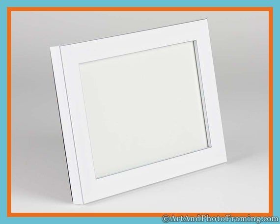 4x6 White Picture Frame White Frame 4x6 White Photo Frame With Silver 4x6 Photo Frame Eco Friendly Tabletop Frames White Picture Frames White Photo Frames Picture Frames