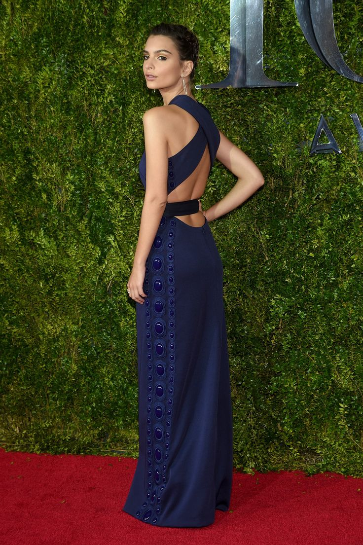Emily Ratajkowski de Marc Jacobs - Tony Awards