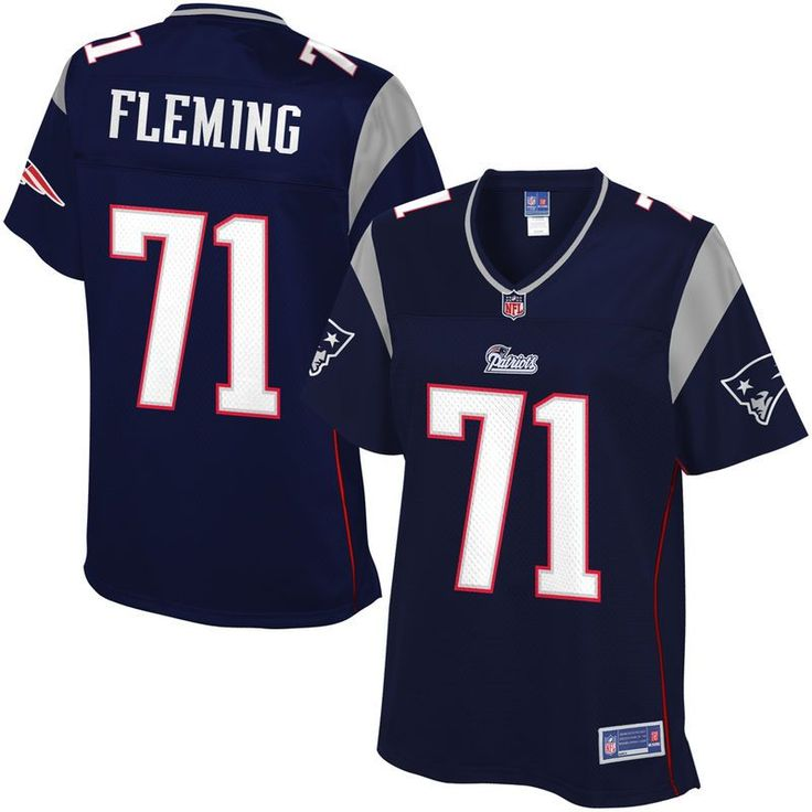 NFL Pro Line Womens New England Patriots Cameron Fleming Team Color Jersey