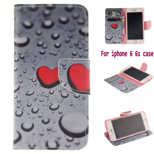 Fashion Retro Patterns Flip Case for Apple iPhone 6S case PU Leather Soft Silicon Wallet Cover  iPhone 6 Case Coque Fundas Capa