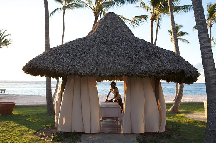 Palapa frente al océano en Club Med Spa by l'OCCITANE - Club Med Punta Cana, República Dominicana