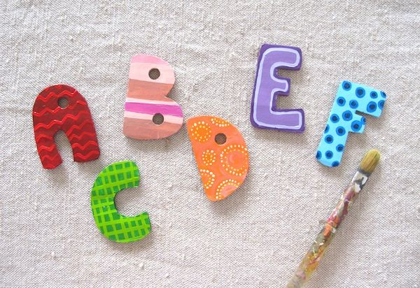 Homemade alphabet magnets: Diy Letters, Arabic Alphabet, Diy Alphabet, Homemade Alphabet, Letters Magnets, Alphabet Magnets, Magnets Sets, 30 Alphabet, Alphabet Ideas