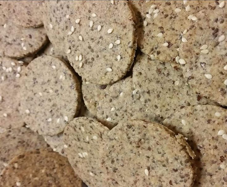 Recipe Clone of Grain-free Crackers by emmarc - Recipe of category Baking - savoury