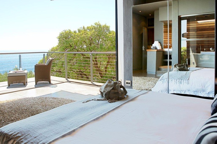 Take in the fresh air and ocean views from the comfort of your bed at 26 Sunset Avenue   Llandudno  http://www.capetownvillas.net/llandudno/26-sunset-avenue