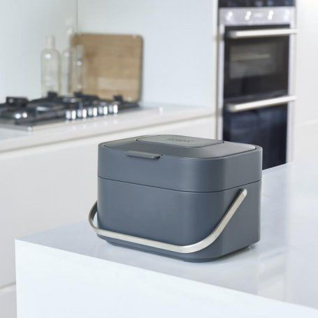 Joseph Joseph Stack Food Waste Caddy - Graphite - 30016 - Binopolis