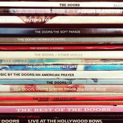 """jimmorrisonproject: """" Discography """""""