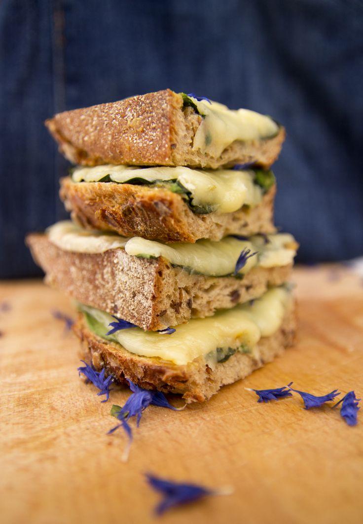 Ostesmørbrød / Cheesesandwich from veggis.samaraga.com