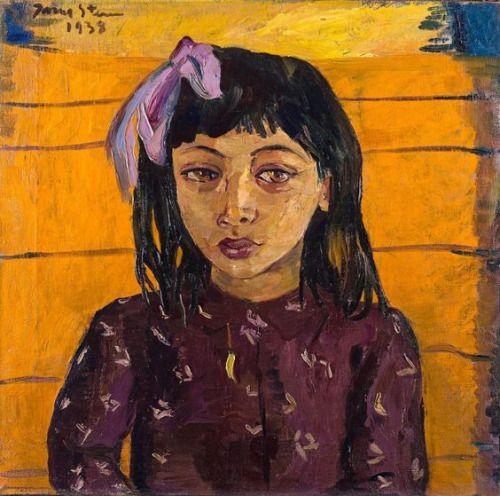 Malay Girl by Irma Stern (womeninarthistory)