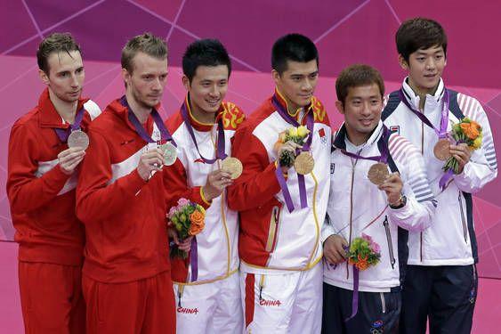 Olympic London 2012 nội dung đôi nam