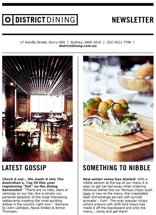 Best Newsletter design ideas on Pinterest