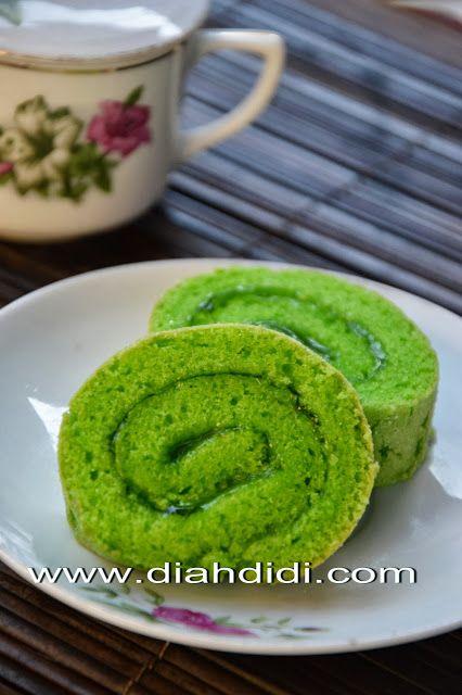 Diah Didi's Kitchen: Roll Cake Pandan