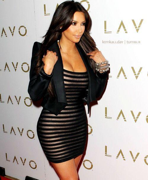 Kim K.. Such a sexy dress