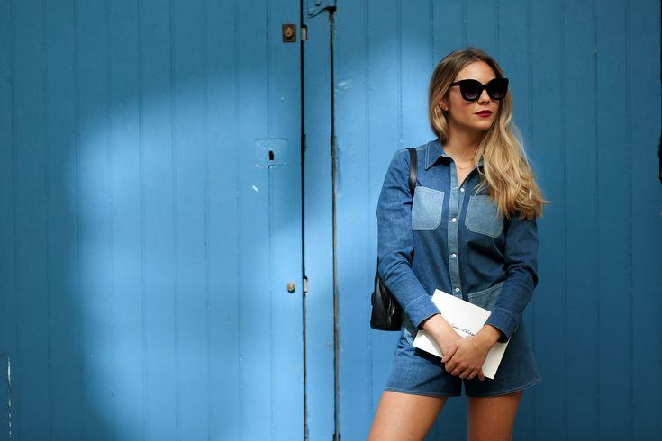 #Margauxavril  #paris #streetlook #streetstyle #appartement #parisienne #photoshoot #photographe #fashion #mode #portrait #photographer #parisienne  #bleu #blue #caradelevingne #model #mannequin