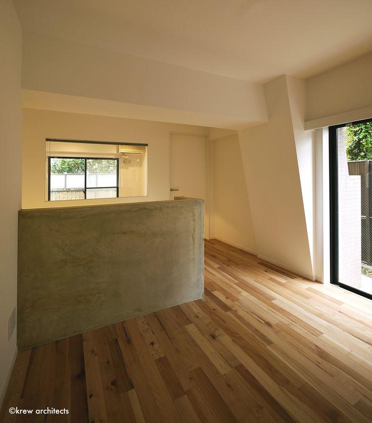不動前のマンション101号室 « krew architects : クルー建築設計事務所