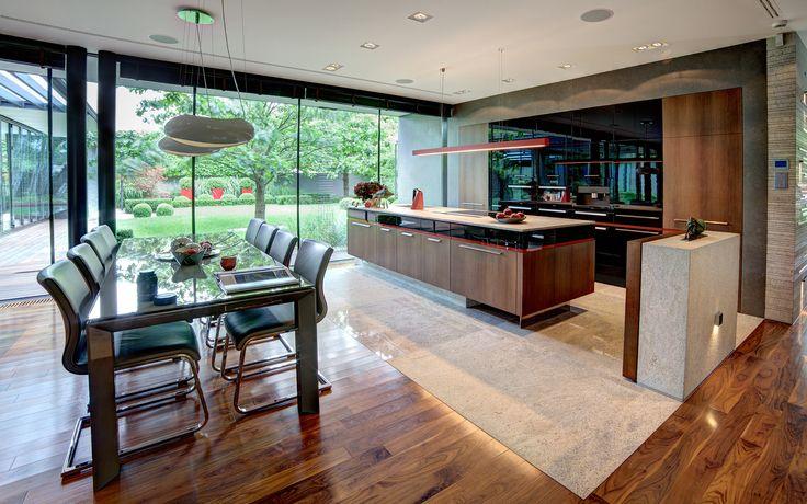 Manufaktura Wirchomski Luxury jitchen idea inspiration modern design style furniture home wood wooden Luksowe kuchnie na zamówienie - rezydencja Komorów Wirchomski – Rezydencje
