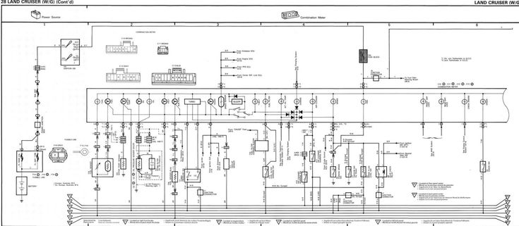 100 Series Landcruiser Spotlight Wiring Diagram And