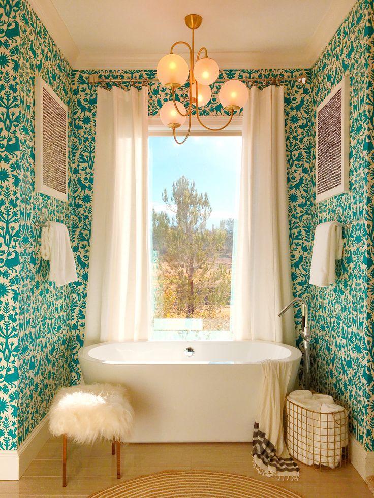 a bold u0026 vivid family home u2014 house call downstairs loobathroom