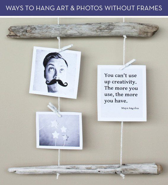 10 Alternative And Cheap Ways To Hang Photos And Art