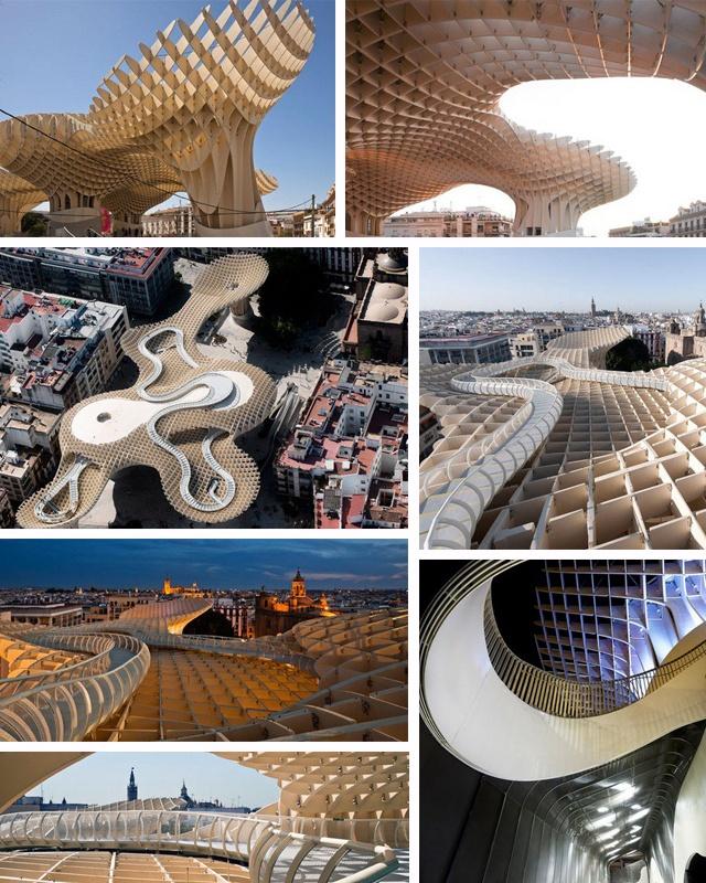 26 best metropol parasol images on pinterest. Black Bedroom Furniture Sets. Home Design Ideas