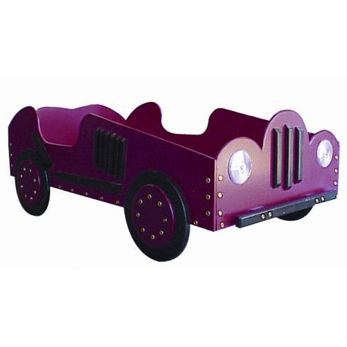 Just Kids Stuff Old Style- Race Toddler Car Bed
