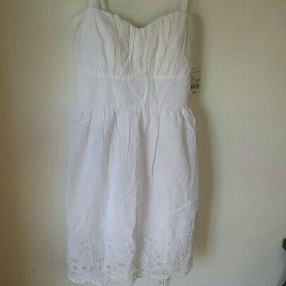 B Smart White Dress sz 14 Bundled for BiBi B Smart  Dresses Strapless