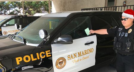 San Marino Says Santa (and You, Too) Can Park Overnight Without Getting a Ticket, Temporarily