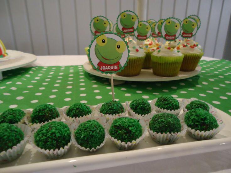 Fiestas Tematicas I Fiestas Mg: Fiesta tematica Sapo Pepe, tortas decoradas del sapo pepe