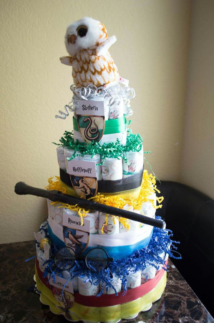 337 best images about harry and ginny on pinterest harry birthday - Harry Potter Diaper Cake