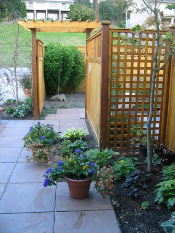 112 best patio privacy fence ideas images on pinterest for Lattice for privacy on patio