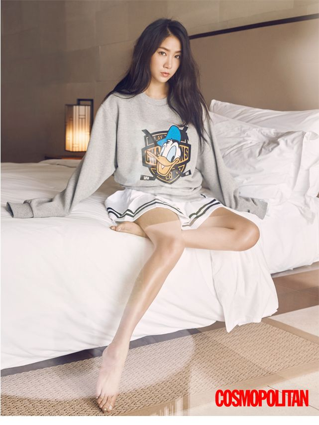 Sistar's Soyu // Cosmopolitan Korea