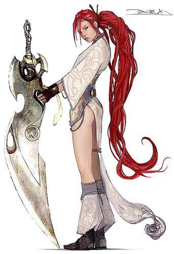 Heavenly Sword Kai Sexy   Heavenly Sword - heavenly-sword Fan Art