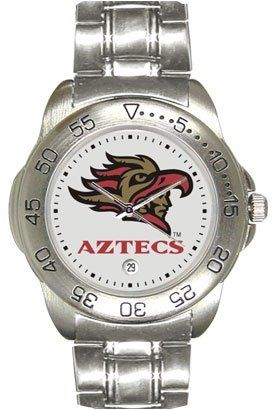 San Diego State University Aztecs Mens Sports Steel Watch by SunTime. $49.95