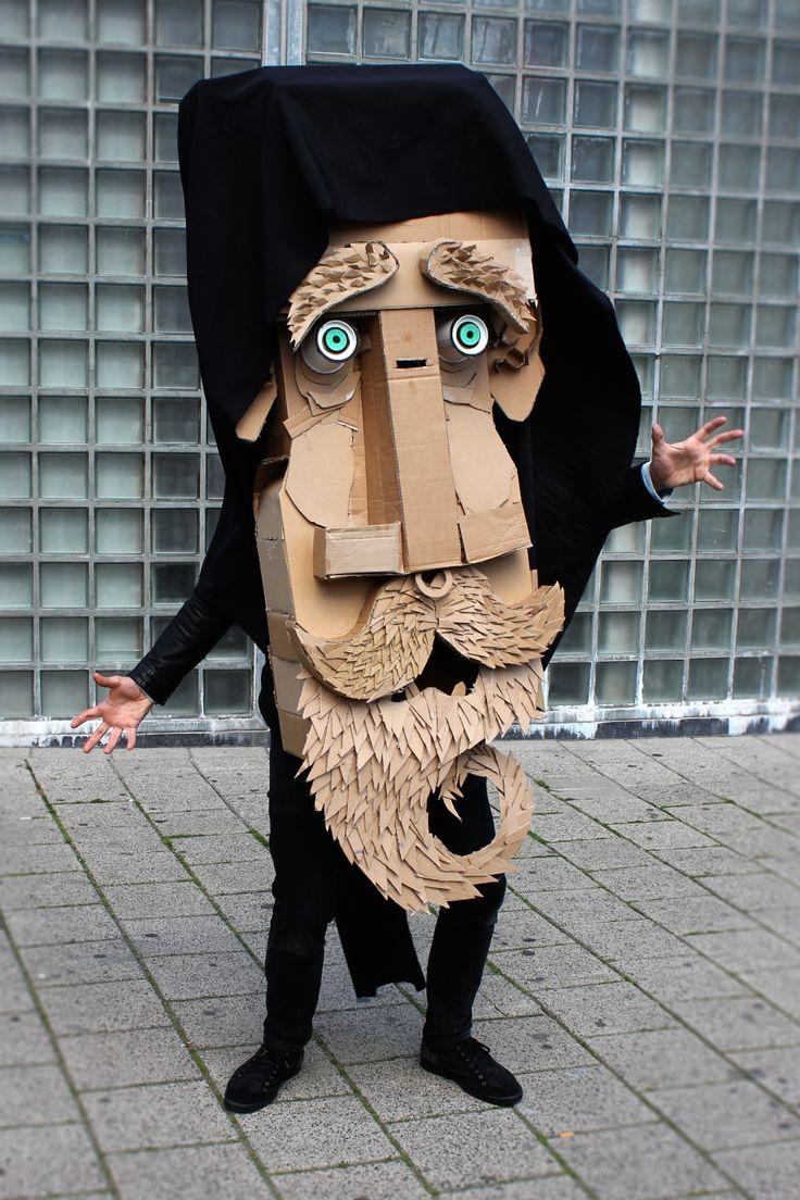 Making faces @ WDKA Illustration | The Arts Board of Cardboard. °