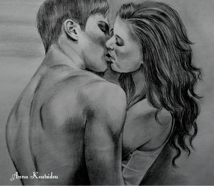 Love is trust by annakoutsidou deviantart com on deviantart pencil drawingslove