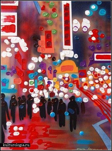 Точечная живопись Шейлы Кернан (Sheila Kernan)