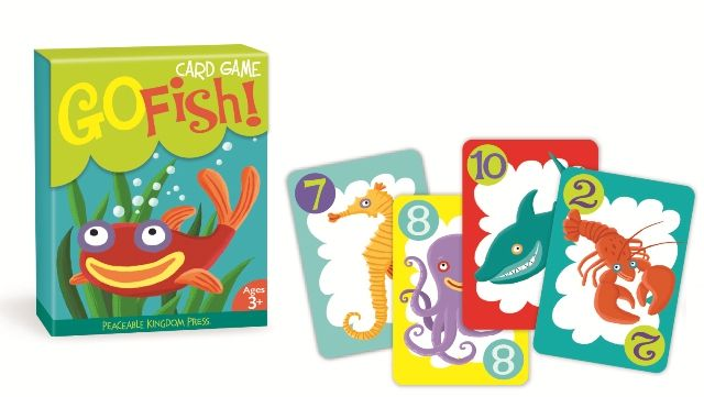 Kids gifts online go fish card game was now 8 for Go fish game online