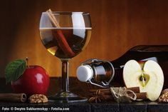 Er schmeckt, als würde man tatsächlich in die traditionelle Mehlspeise beißen – der süße Apfelstrudellikör.