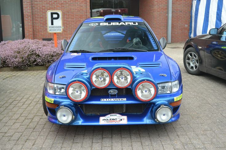 Carpics by Scorpion: TAC Rally 2013 - Subaru Impreza WRC '98 Colin McRae