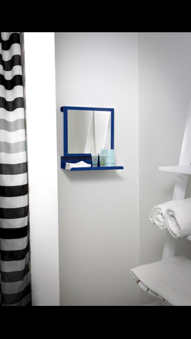 Ledge:able in special colour for hotel bathrooms