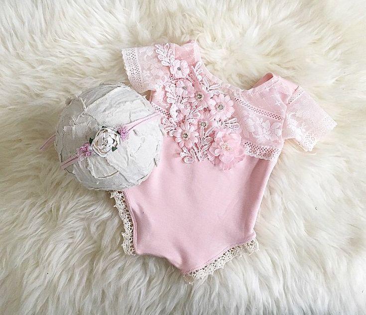 Freue mich, euch diesen Artikel aus meinem Shop bei #etsy vorzustellen: Neugeborenen Set Neugeborenen Requisiten Foto Outfit Baby Body Baby Fotografie Prop Neugeborenen Accessoires Neugeborenen Haarband