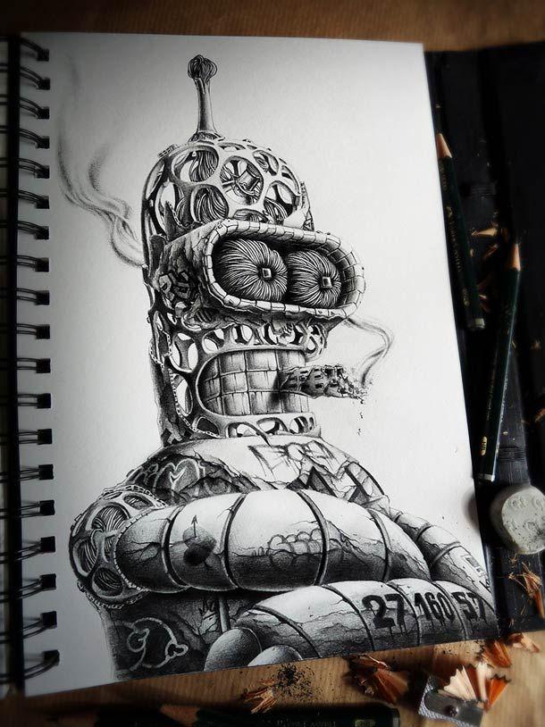 Distroy Part II – Nouvelles superbes illustrations de PEZ