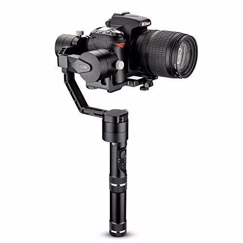 cool Zhiyun Crane V2 + Dshot trípode 3 ejes sin escobillas de mano Gimbal Estabilizador para Cámaras Réflex Digitales Sony A7 Serie Serie/Panasonic Lumix/Nikon Canon de la serie J M serie