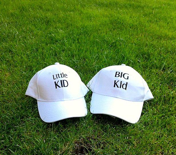 Baba - Oğul Şapka :) Birlikte bir oyun parkına gitmek güzel olacaktır...