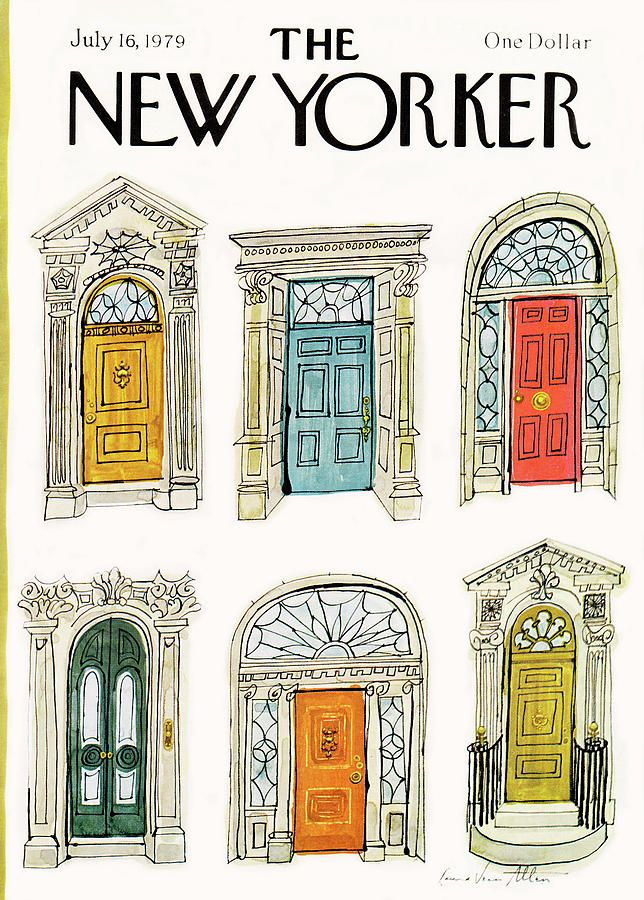 New Yorker July 16th 1979 Painting By Laura Jean Allen New